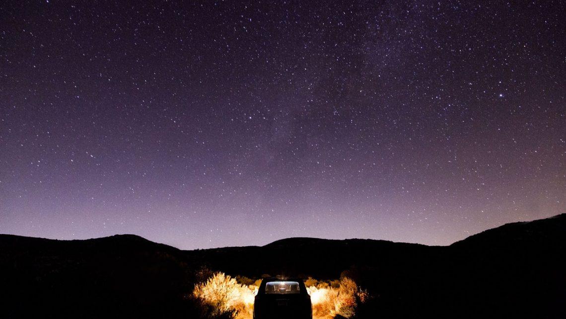 Como conducir por la noche