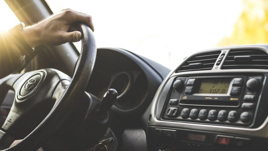 Errores al viajar en coche