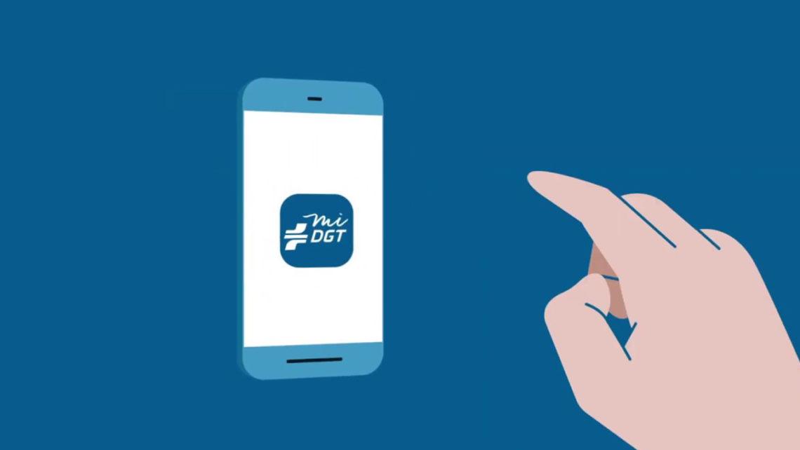miDGT app Dirección General de Tráfico